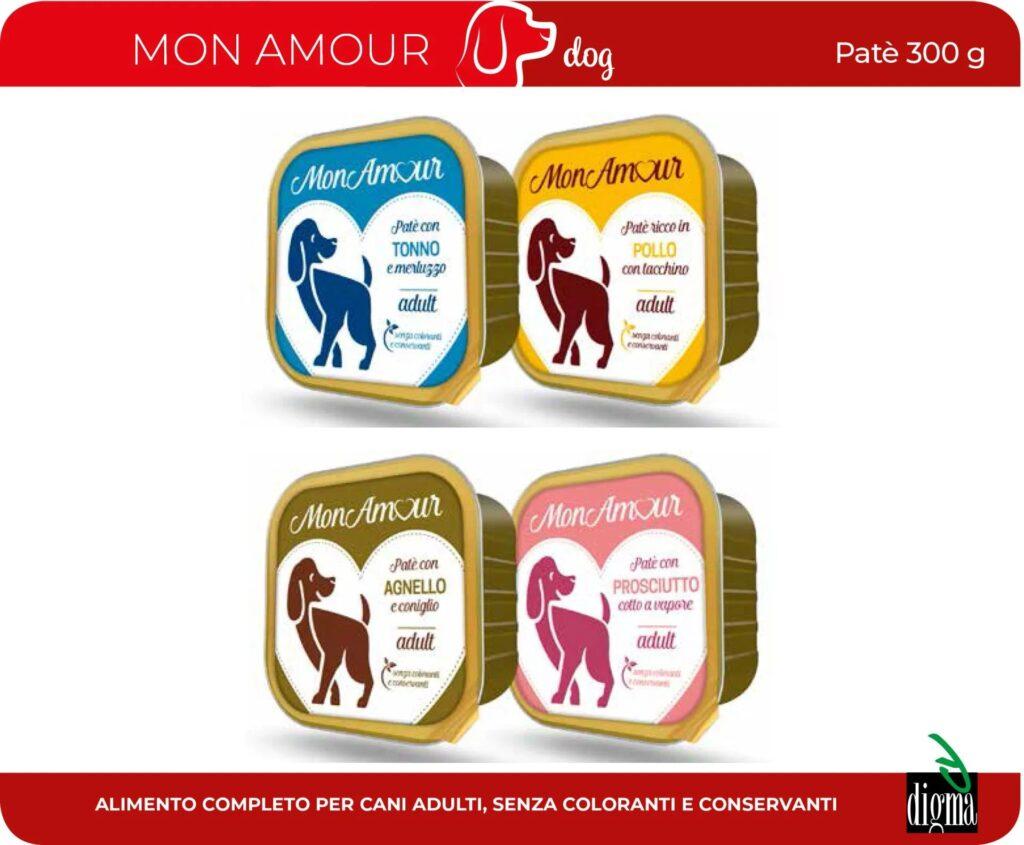 Mon Amour - Alimento completo per cani - Patè 300g